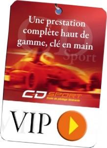 pass accompagnateur VIP