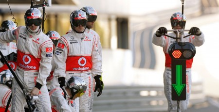 pit stop F1