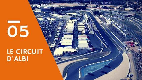 Circuit d'Albi : un tracé pour la vitesse !