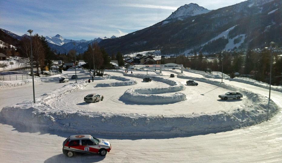 Circuit de glace de Serre Chevalier