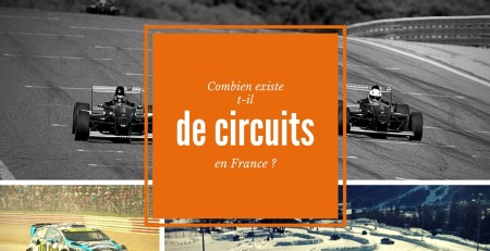Nombre de circuits automobile en France