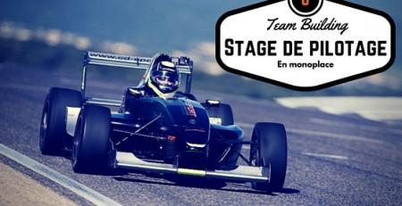 Organisez un Team Building Stage de Pilotage