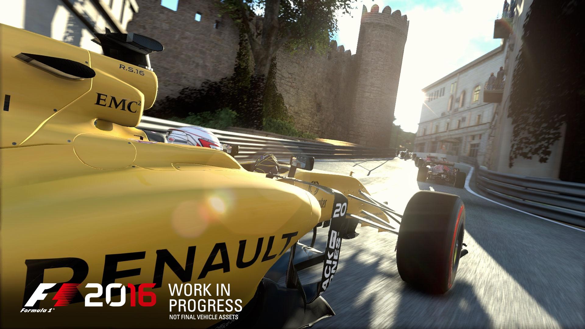 F1 2016 sur PC, PS4 et Xbox One