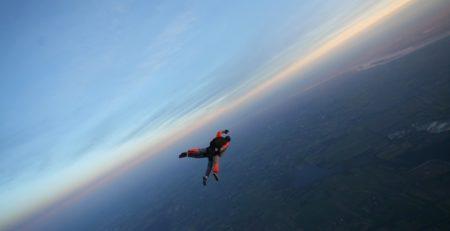 EVG saut en chute libre