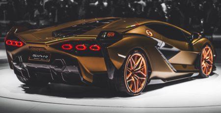 La supercar Lamborghini Sián, une voiture hybride