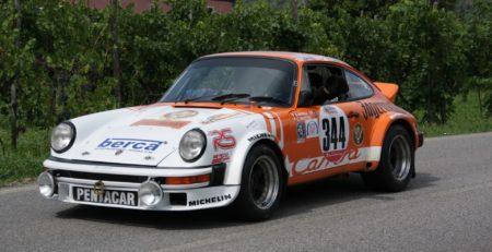 Course de côte avec Porsche